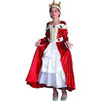 Made Detský karnevalový kostým Královná 120-130 cm