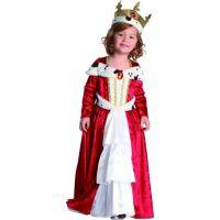 Made Detský karnevalový kostým Královná 92-104 cm