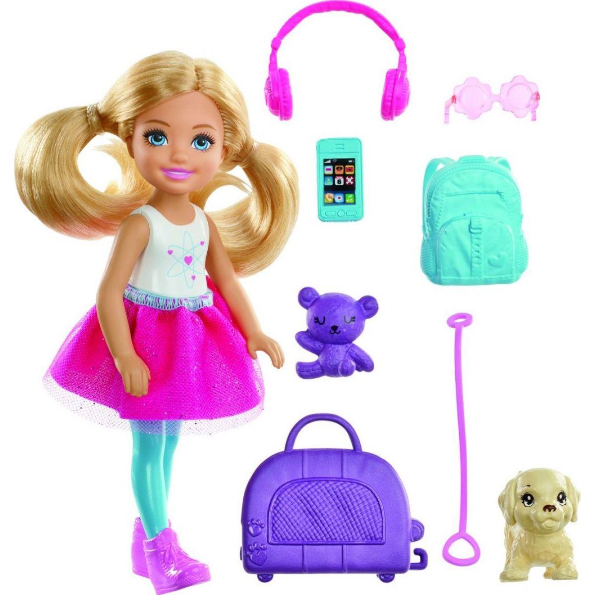 Mattel Barbie Chelsea cestovateľka