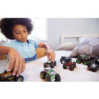 Mattel Hot Wheels Monster trucks demolačné duo Hotweiler VS Hound Hauler FYJ69 4