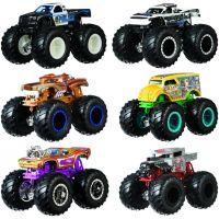 Mattel Hot Wheels Monster trucks demolačné duo Hotweiler VS Hound Hauler FYJ69 5