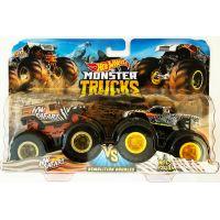 Mattel Hot Wheels Monster trucks demoliční duo HW Safari VS Wild Streak
