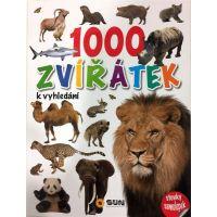 1000 Zvířátek k vyhledání Samolepky
