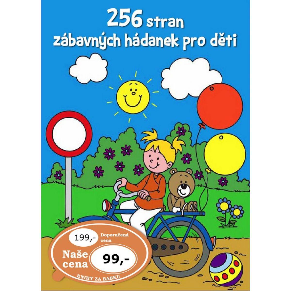 256 strán zábavných hádaniek pre deti CZ