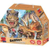 3D Puzzle Dinosaury 3v1