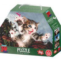 3D Puzzle Mačiatka 3v1