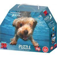 3D Puzzle Psíky pod vodou 3v1