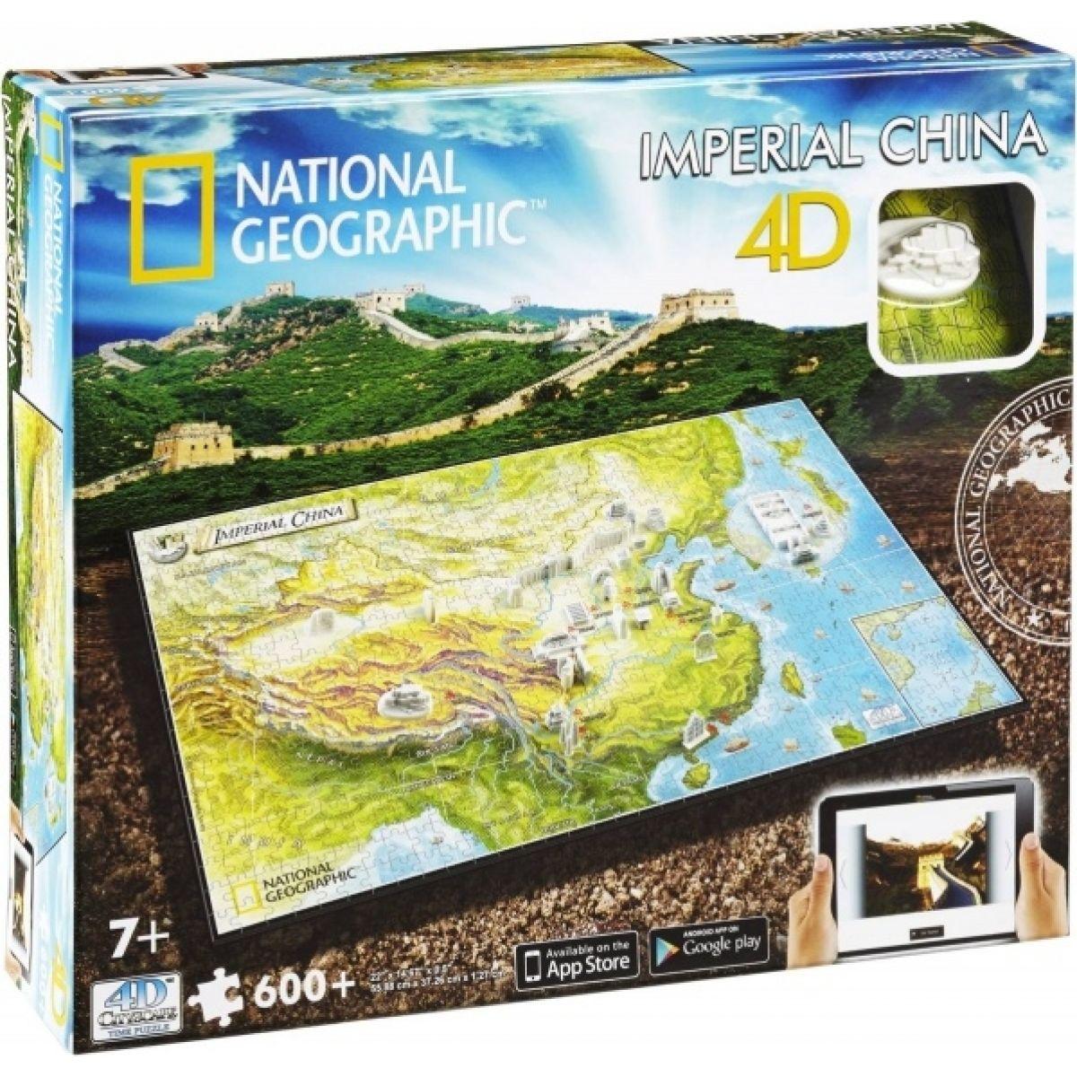 4D Cityscape puzzle National Geographic Staroveká Čína
