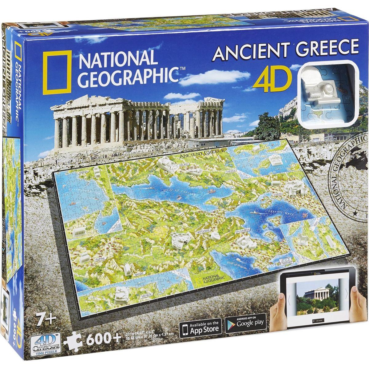 4D Cityscape puzzle National Geographic Staroveké Grécko
