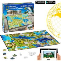 4D Cityscape puzzle National Geographic Staroveké Grécko 3