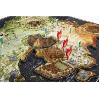 4D CITYSCAPE puzzle Hra o tróny Game of Thrones ESSO 3