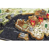 4D CITYSCAPE puzzle Hra o tróny Game of Thrones ESSO 5