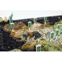 4D CITYSCAPE puzzle Hra o tróny Game of Thrones ESSO 6