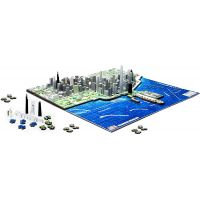 4D Cityscape puzzle Time Panorama Chicago 3