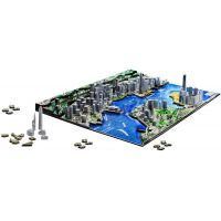 4D Cityscape puzzle Time panorama Hong Kong 3