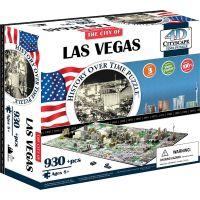 4D Cityscape puzzle Time Panorama Las Vegas