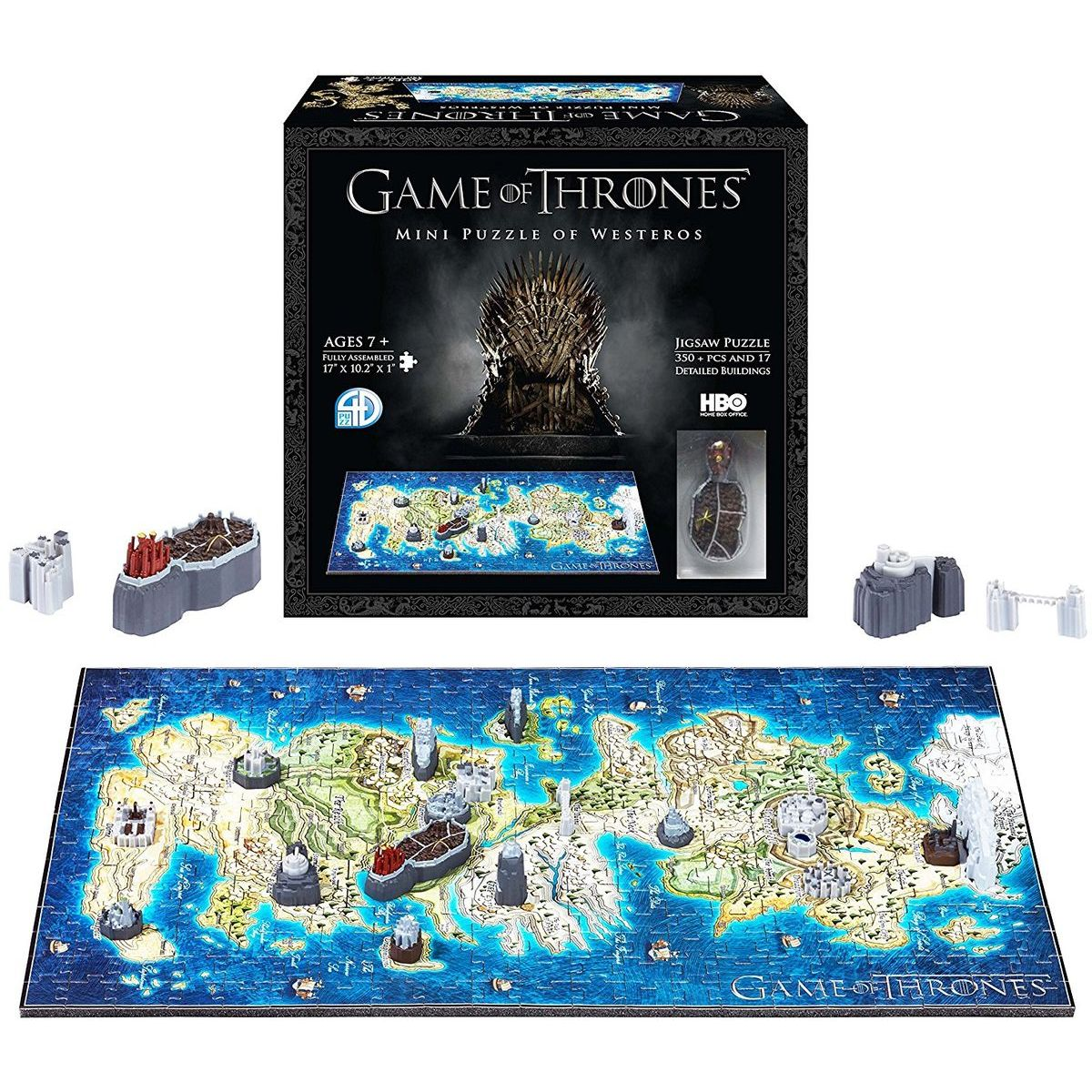 4D Cityscape 3D puzzle Game Of Thrones Mini Westeros