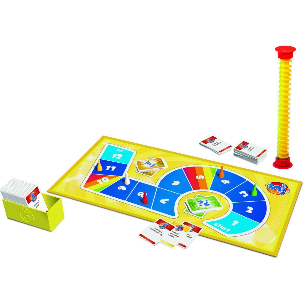 Trefl 5 Sekúnd junior spoločenská hra CZ verzia