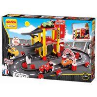 Abrick 3042 Závodný okruh s garážou 2
