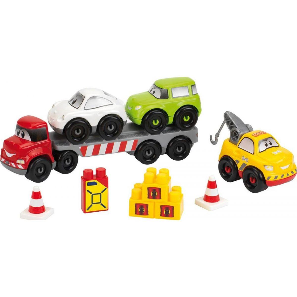 Abrick 3245 Transportér + 3 autá 38 ks