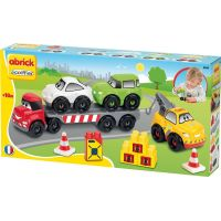 Abrick 3245 Transportér + 3 autá 38 ks 3