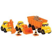 Ecoiffier stavebné autíčka Abrick 3252 oranžové 2