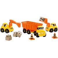 Ecoiffier stavebné autíčka Abrick 3252 oranžové 3