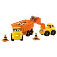 Ecoiffier stavebné autíčka Abrick 3252 oranžové 4
