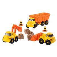 Ecoiffier stavebné autíčka Abrick 3252 oranžové 5