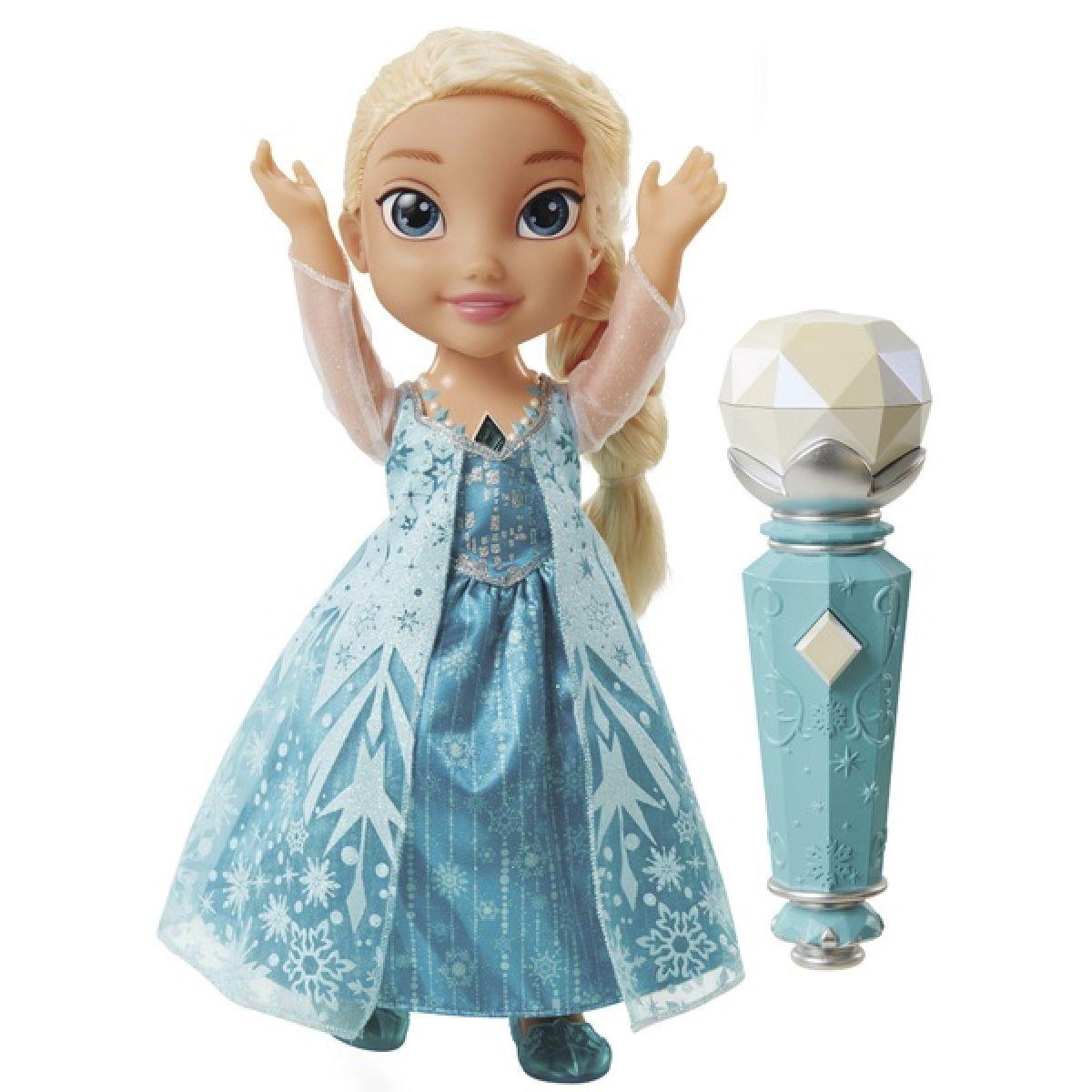 ADC Blackfire Ľadové kráľovstvo Spievajúca Elsa karaoke - Poškodený obal