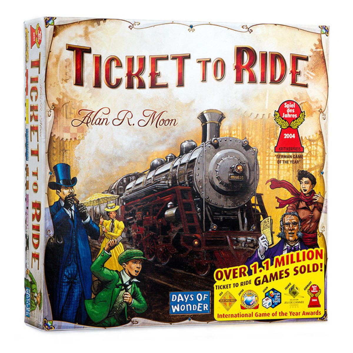 Days of Wonder 717516 - Ticket to Ride