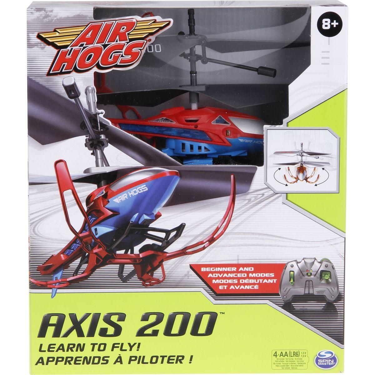 Air Hogs RC Helikoptéra Axis 200 červená