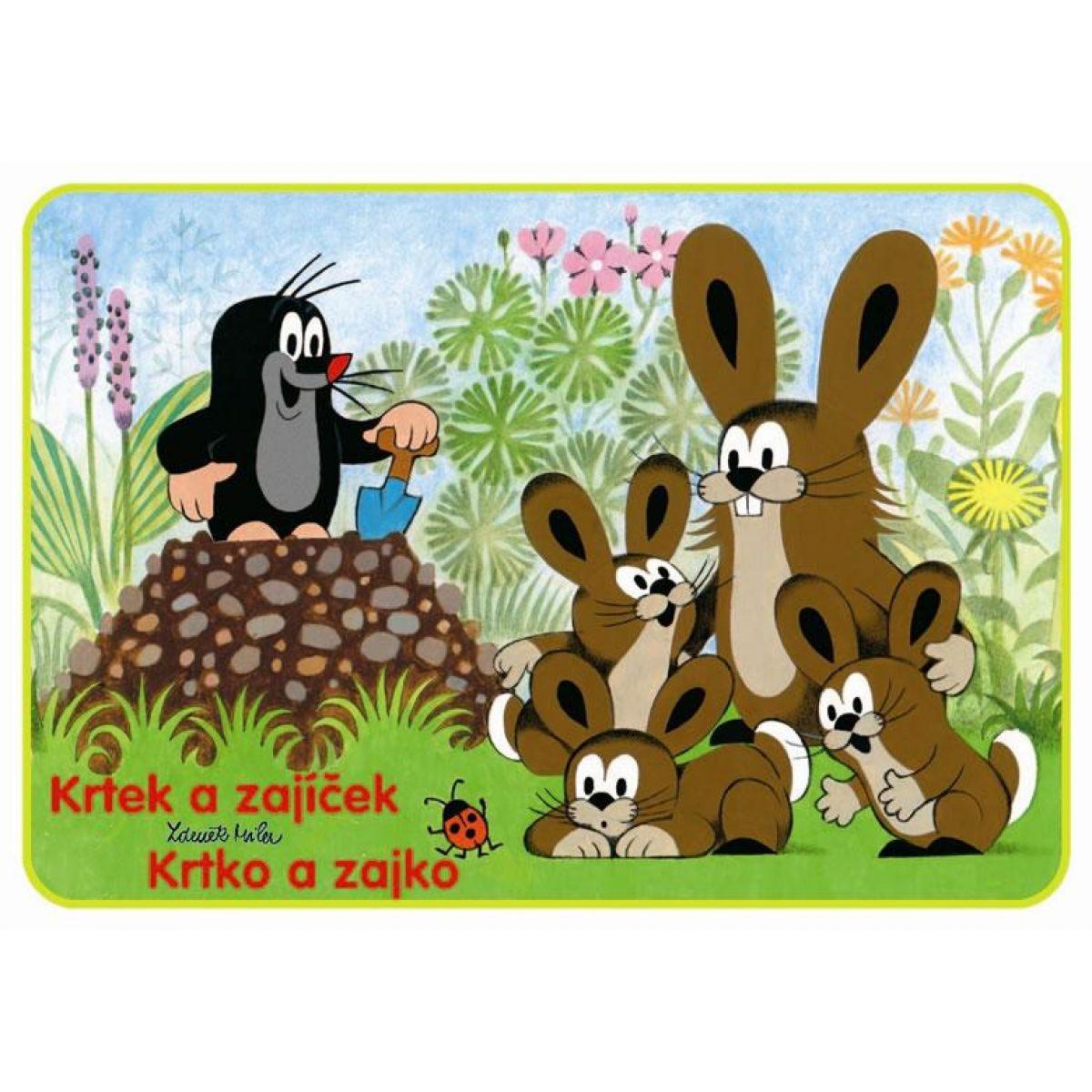 Akim Omaľovánky Krtek a zajačik A5