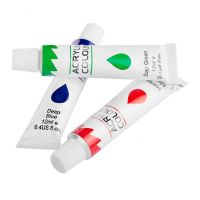 Easyoffice Akrylové farby Set 12 farby so štetcami a paletou 3
