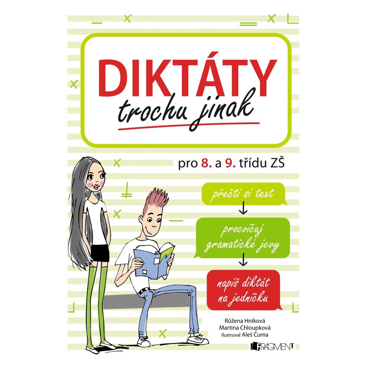 Diktáty trochu inak pre 8. a 9. triedu ZŠ Martina Chloupková, Růžena Hníková