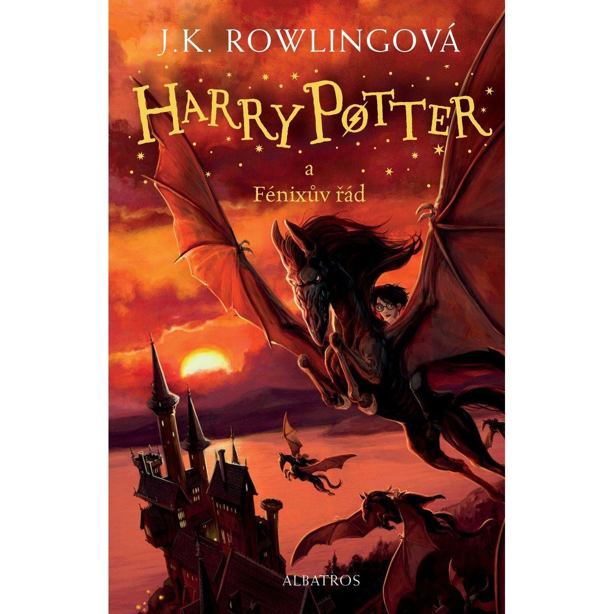 Harry Potter a Fénixův řád J.K. Rowling, Jonny Duddle ilustrácie