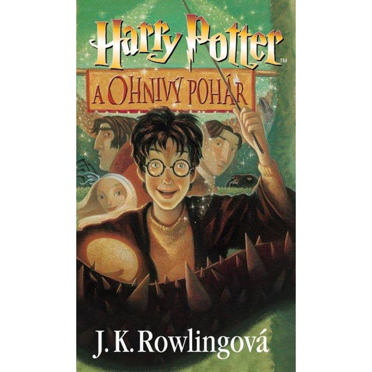 Harry Potter a Ohnivý pohár - Joanne K. Rowling