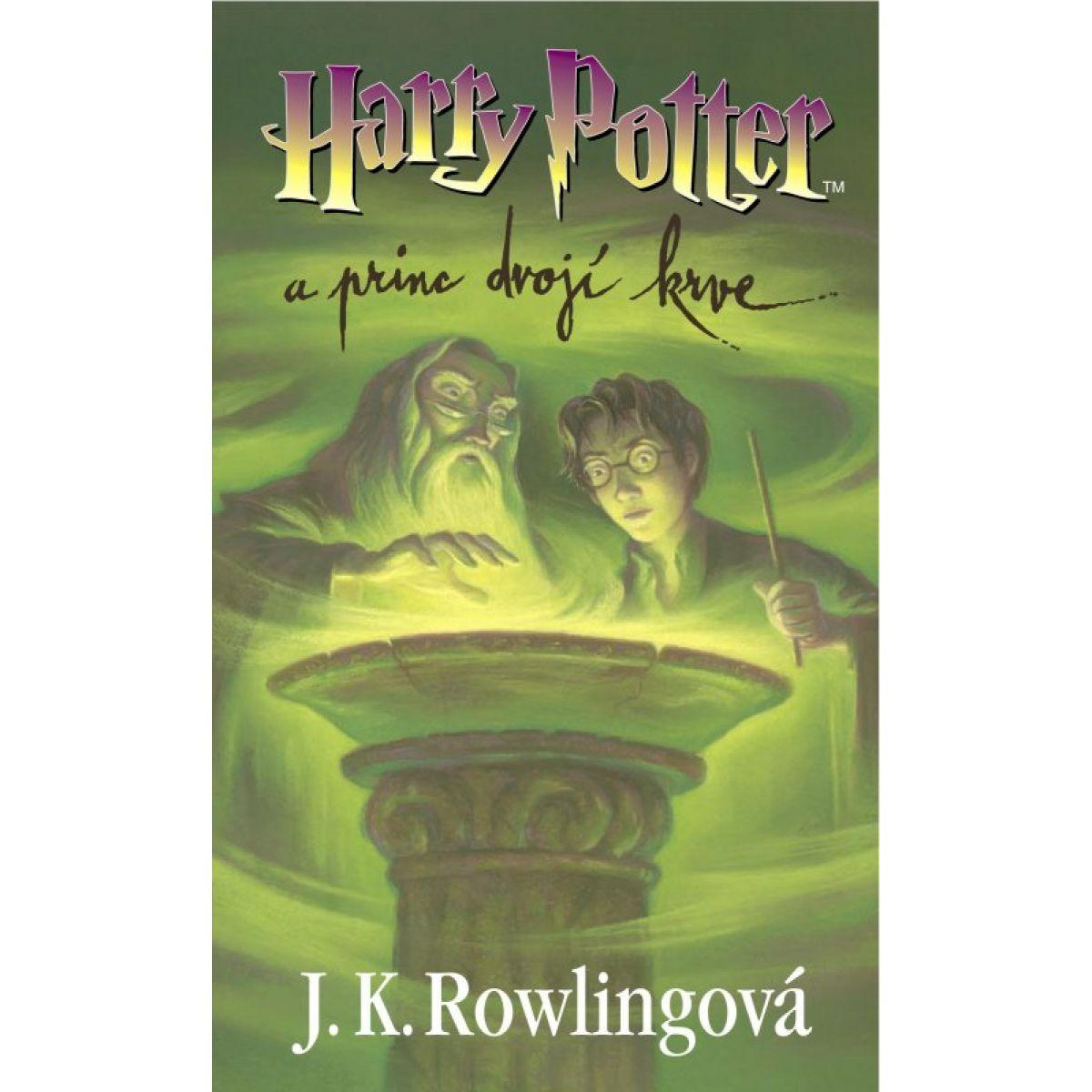 Harry Potter a princ dvojí krve - J.K. Rowlingová