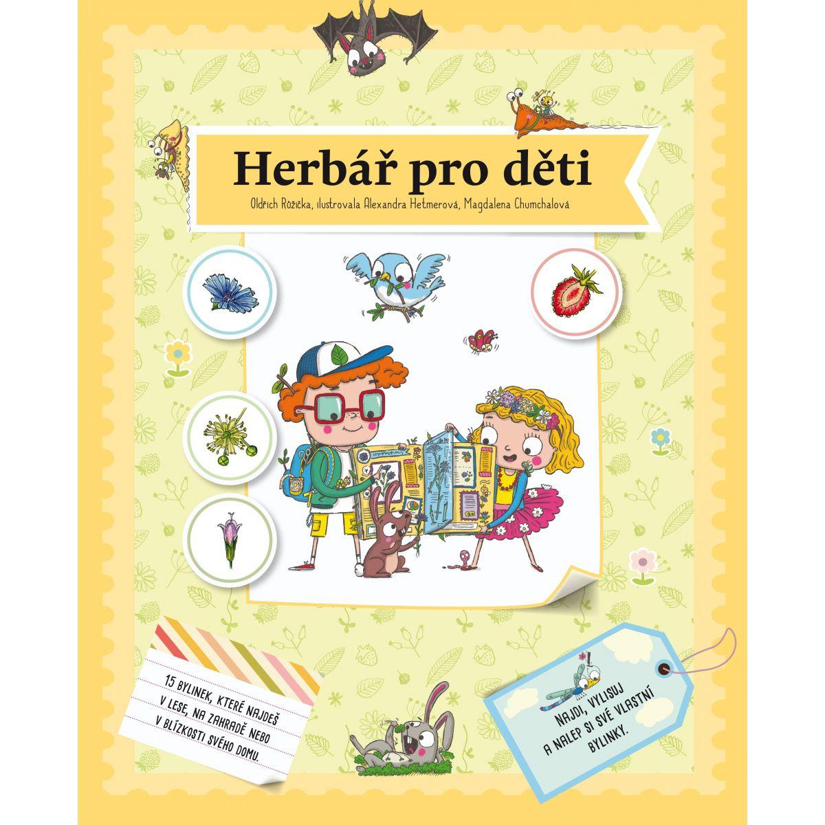 Herbár pre deti Oldřich Růžička CZ