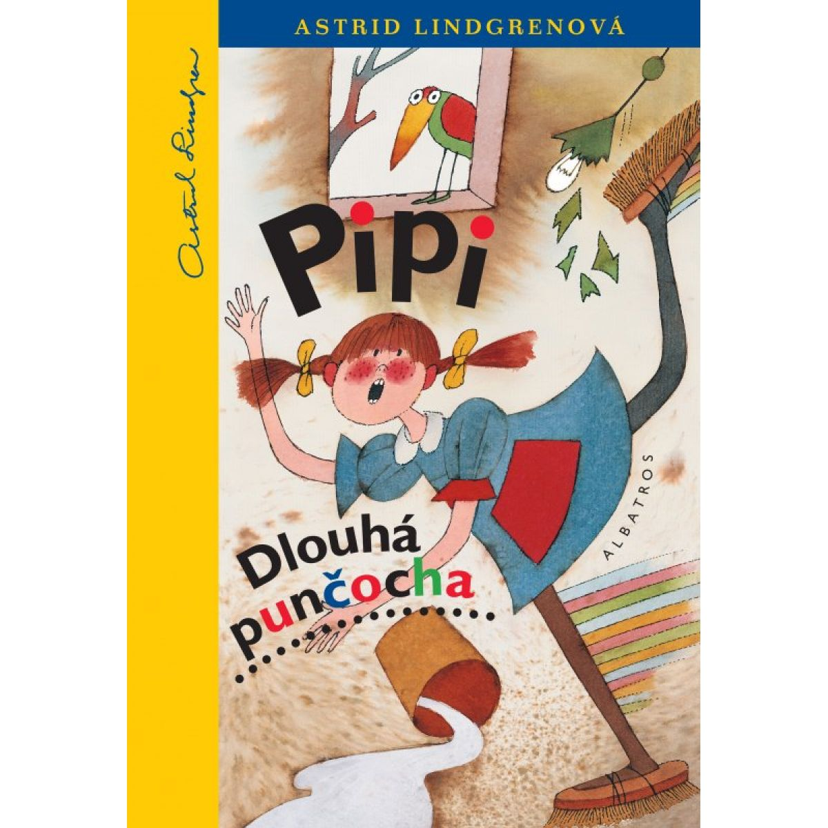Pipi Dlouhá punčocha - 9. vyd. - Astrid Lindgrenová, Adolf Born