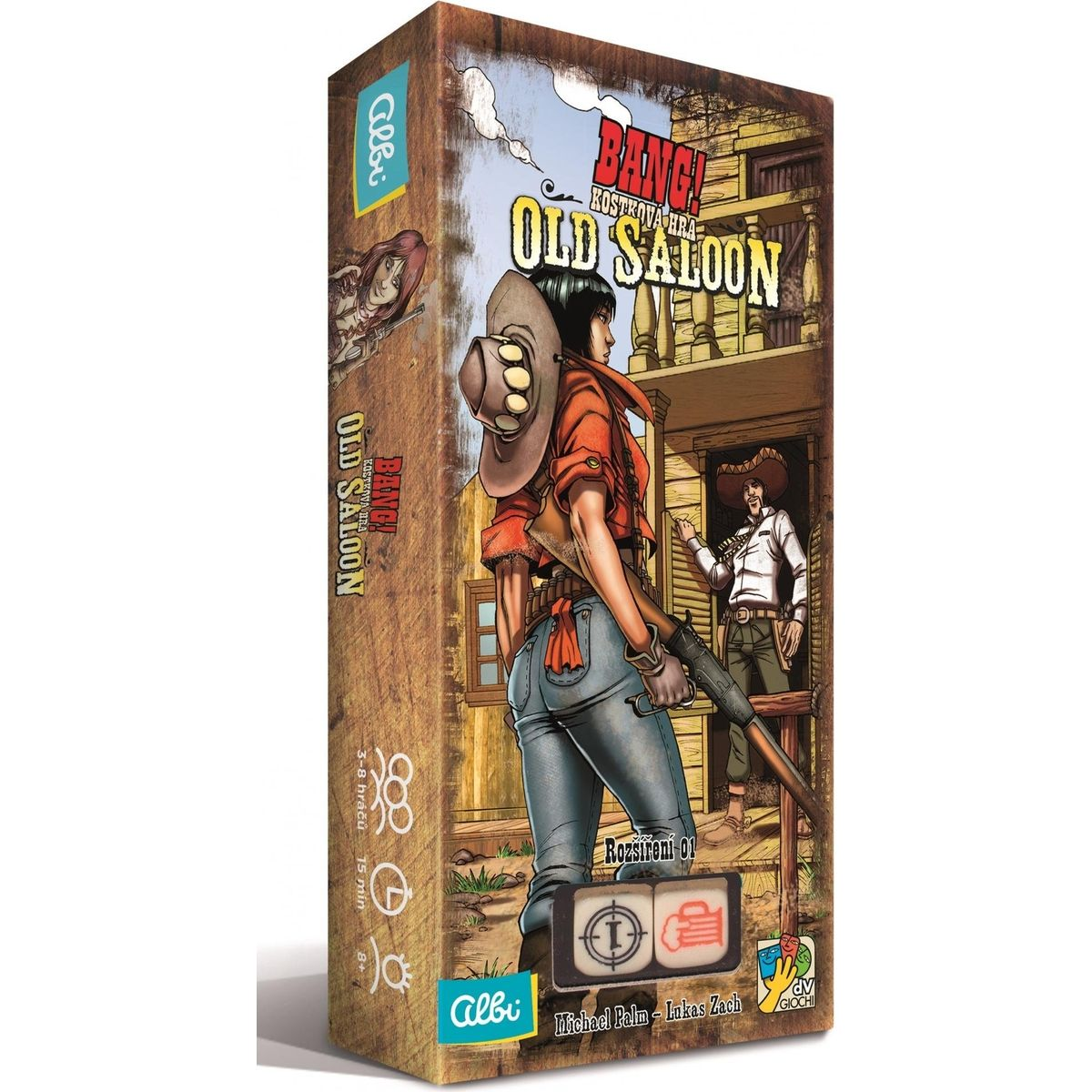 Albi Bang! Kocková hra: Old saloon rozšírenie