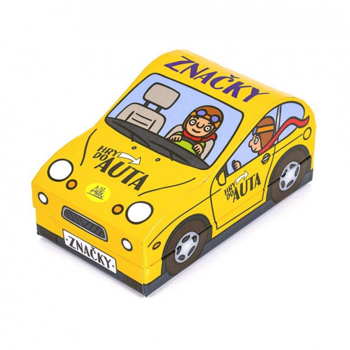 Albi Hra do auta - značky