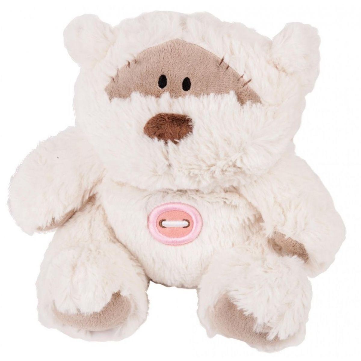 Albi Hrejivé plyšové zvieratká - Medvedík s gombíkom 30 cm