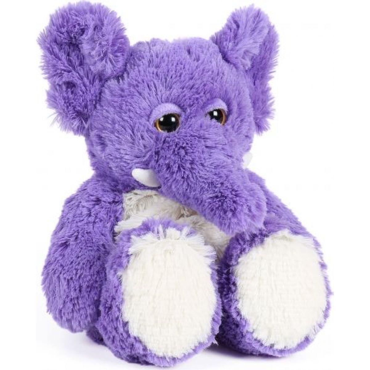 Albi Hrejivé plyšové zvieratká - Slon fialový 30 cm