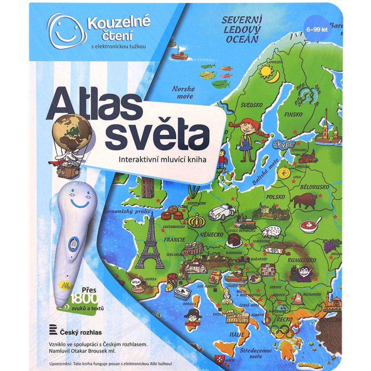 Albi Kúzelné čítanie Atlas sveta