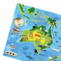 Albi Kúzelné čítanie Atlas sveta 4