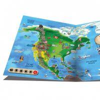 Albi Kouzelné čtení Elektronická tužka a kniha Atlas světa - Poškozený obal 4