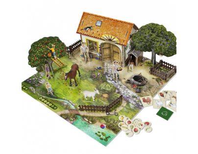 ALBI Kúzelné čítanie Hra Na farme