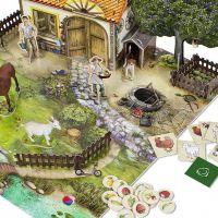 ALBI Kúzelné čítanie Hra Na farme 3