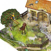 ALBI Kúzelné čítanie Hra Na farme 4